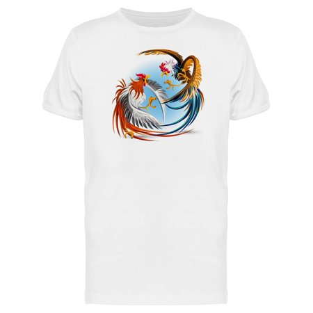 Amazing Roosters Nature Fighting Tee Men's -Image by -