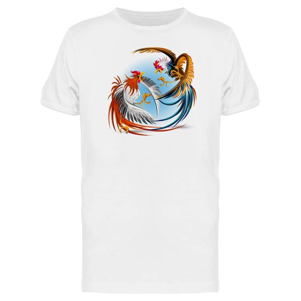 Amazing Roosters Nature Fighting Tee Men's -Image by Shutterstock