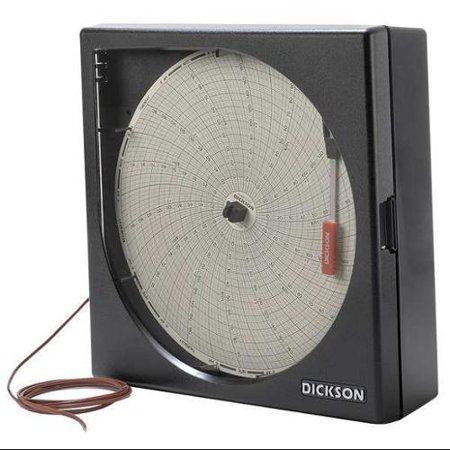 Thermocouple Recorder - K Thermocouple Temperature Chart Recorder, Dickson, KT8P0