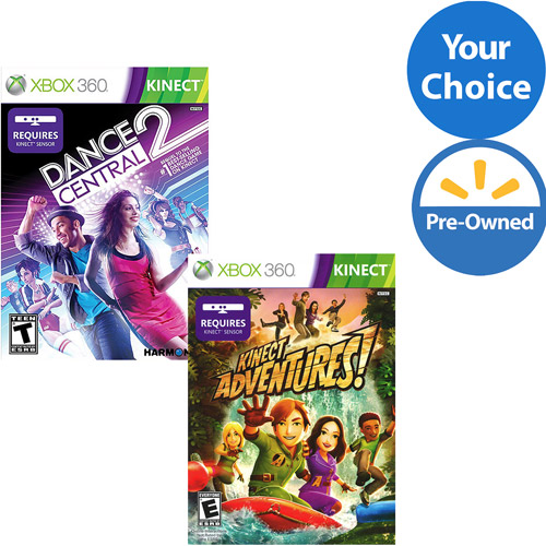 Xbox 360 Kinect Favorites Value Game Bundle (Pre-Owned)