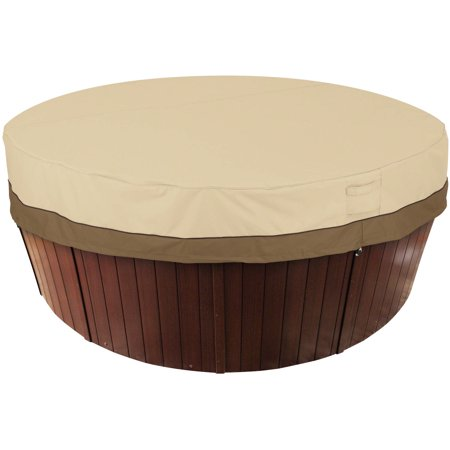 Classic Accessories Veranda Round Spa and Hot Tub Storage Cover, -