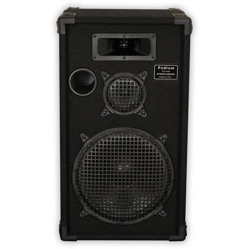 "Podium Pro E1200C Passive Speaker 12"" Three Way 500W Monitor PA DJ Karaoke Home by Podium Pro Audio"