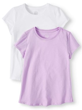 f1390401f576 Product Image Girls  Crew Neck T-Shirts 2-Pack