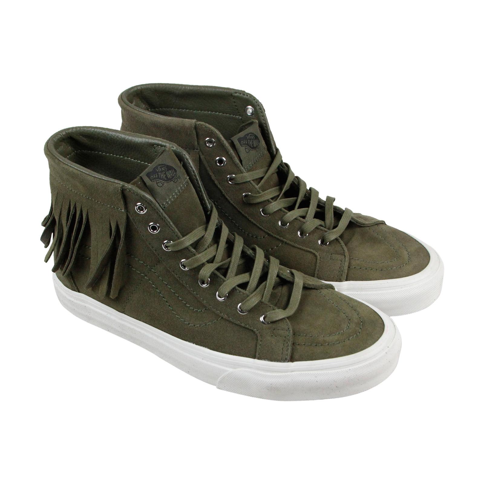 Vans Sk8 Hi Moc Mens Brown Suede High Top Lace Up Sneakers Shoes