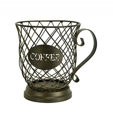Kup Keeper Coffee & Espresso Pod Holder, Coffee Mug Storage Basket by Boston Warehouse - Craft Store Boston