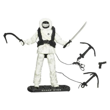 G.I. Joe Movie The Rise of Cobra 3 3/4 Inch Action Figure Snake Eyes (Arctic Assault), Jump into action with this fearless-looking action figure and.., By G I Joe From