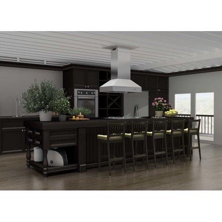 Z Line Kitchen 1200 Cfm Ducted Island Range Hood