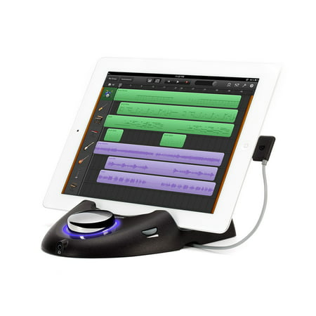 Griffin StudioConnect - Audio and MIDI Interface for iPad, 30 Pin Connector, Connect your Guitar/ Bass/ MIDI Instrument to your iPad