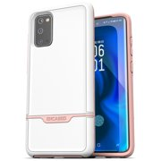 Protective Galaxy S20 Case Pink Military Grade Heavy Duty Full Body Cover (Samsung S20) White/Pink