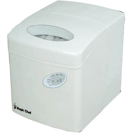 Magic Chef Portable Ice Maker, MCIM22TW
