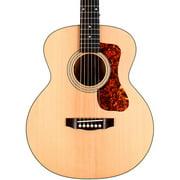 Guild Jumbo Junior Flamed Maple Acoustic-Electric Guitar Natural