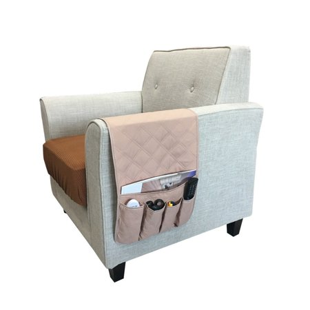 Armchair Sofa Chair Storage 5 Pocket Double Sided ...