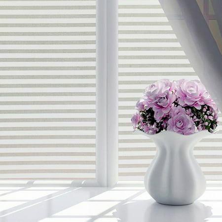 PVC Window Film Waterproof Frosted Window Sticker Glass Film Private Bedroom Bathroom 18