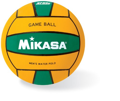 Mikasa Water Polo Game Ball (Men's, Green Yellow), Game Ball By Mikasa Sports by