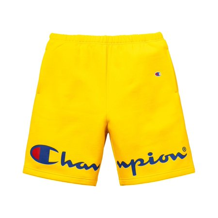 c2899f157d38 Supreme - Men - Supreme Champion Sweatshort - Yellow - Size Small - image 2  of ...