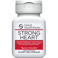 Strong Heart by Great HealthWorks Omega-7 Fatty Acid Health Supplement