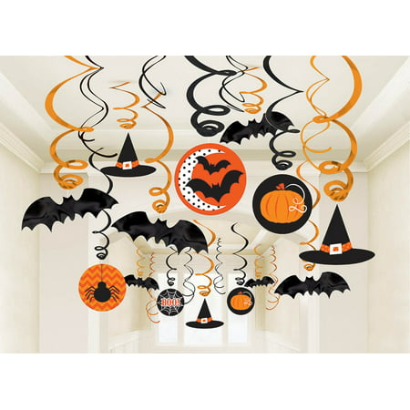 Modern Halloween Swirl Decorating Kit (Each) - Halloween Bedroom Decorating Ideas