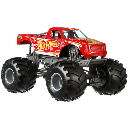 Hot Wheels Monster Trucks 1:24 Scale Hot Wheels Racing Pickup