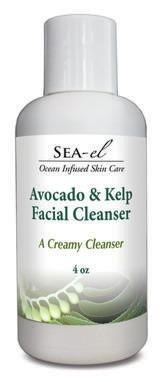 Avocado & Kelp Facial Cleanser Sea El 4 oz Liquid by