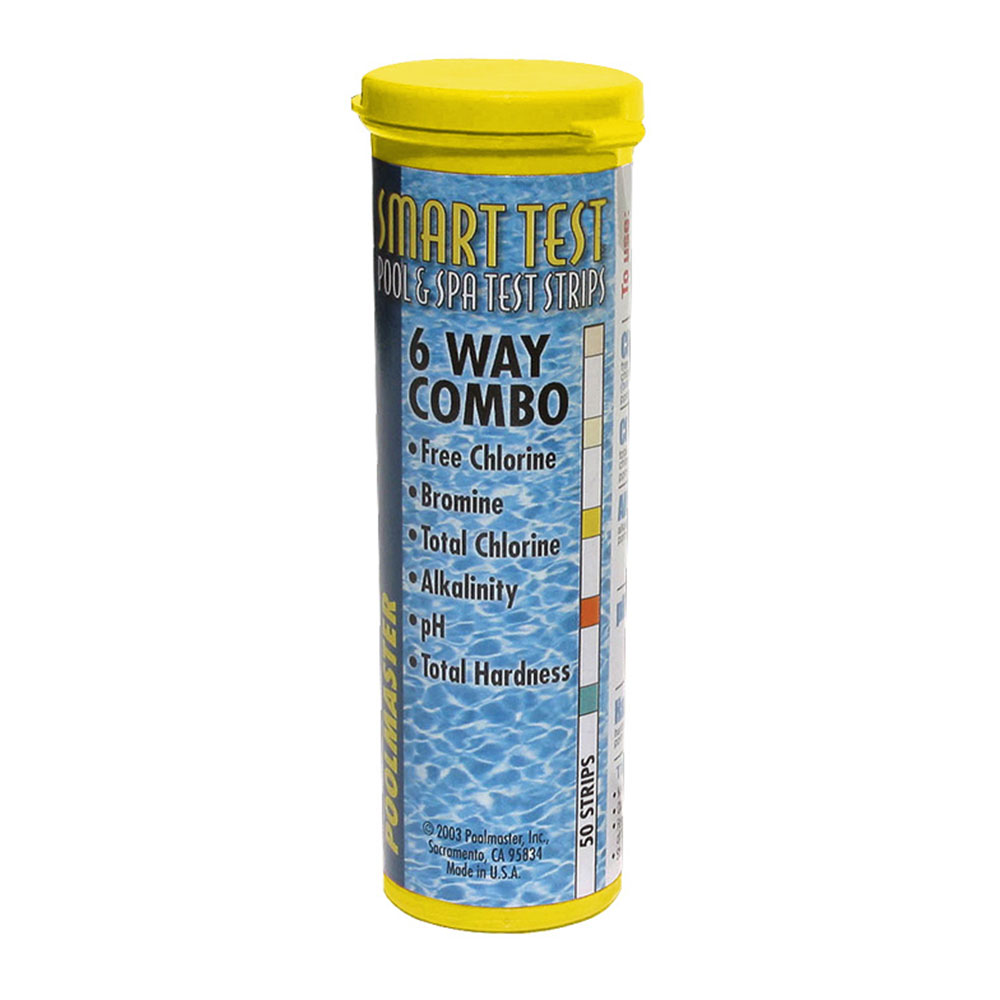 Poolmaster Smart Test 6-Way Test Strips