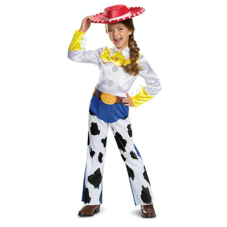 Four Person Halloween Costume (Girl's Jessie Classic Toddler Halloween Costume - Toy Story)