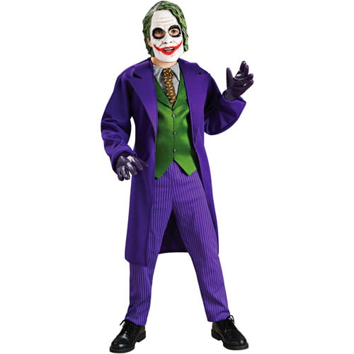 Batman Joker Deluxe Child Halloween Costume by Rubies