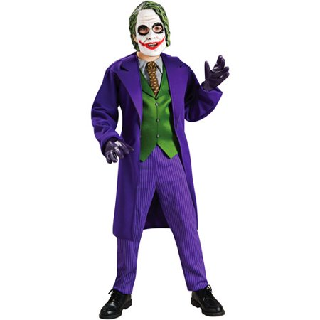 Batman The Joker Deluxe Child Halloween Costume](Costumes Of Batman)