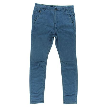 Adidas Mens NEO Fishermen Jeans Blue ()