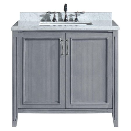 Fresca 36 W X 18 D White Torino Vanity And Top With