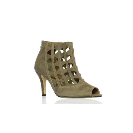 VANELi Womens Petal Truffle Suede Sandals Size 9