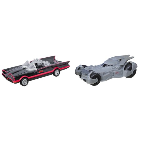 DC Legacy Series 2 Pack Lights and Sounds 1966 and 2016 Batmobile](Batmobile For Kids)
