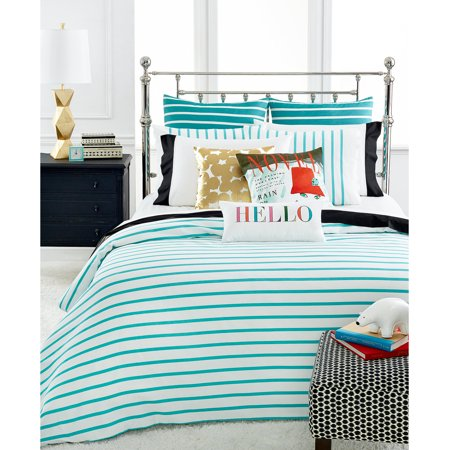 Kate Spade New York Harbor Stripe Turquoise Twin/Twin XL Comforter Set