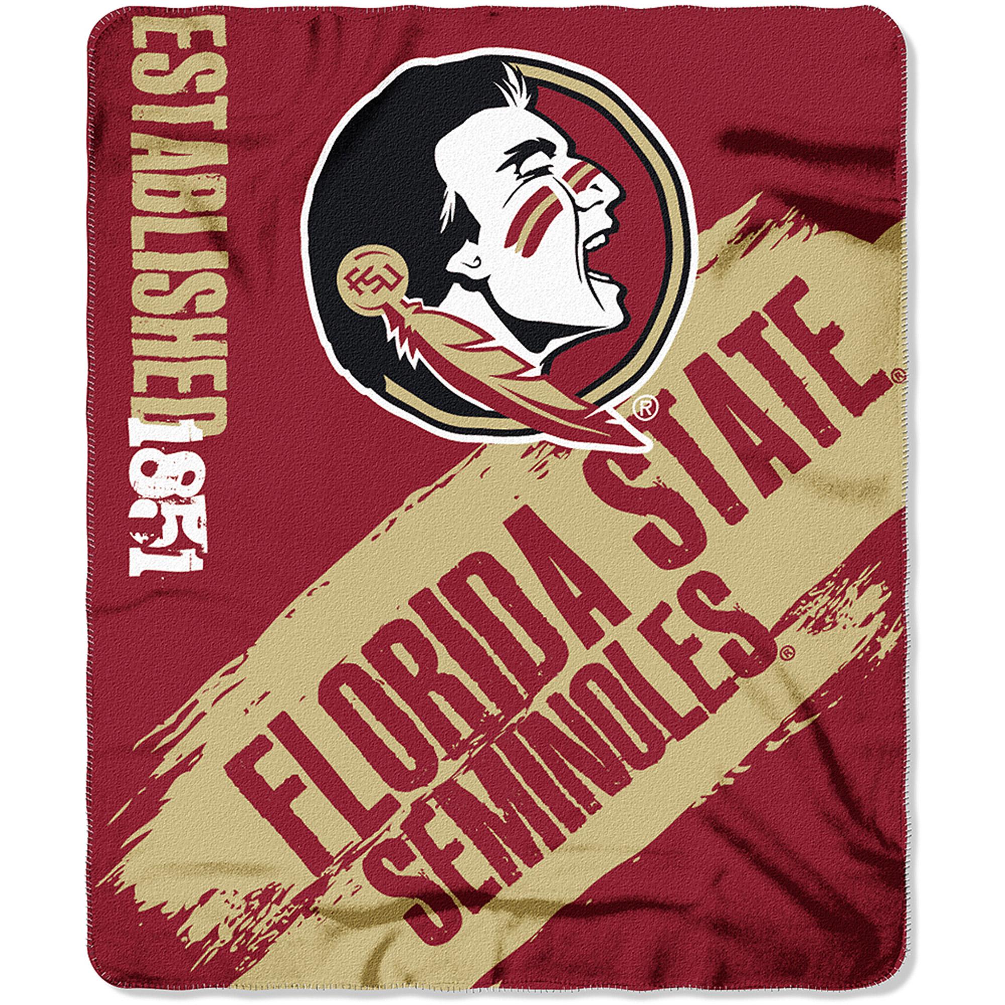 "NCAA Florida State Seminoles 50"" x 60"" Fleece Throw"
