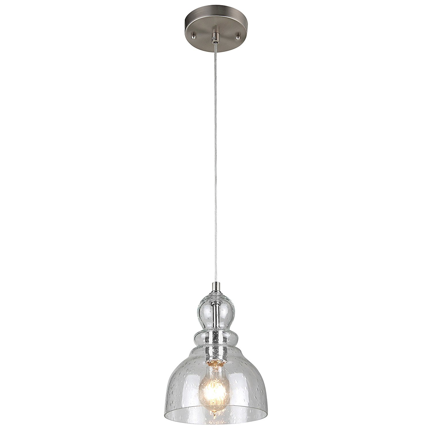 Industrial e Light Adjustable Mini Pendant with