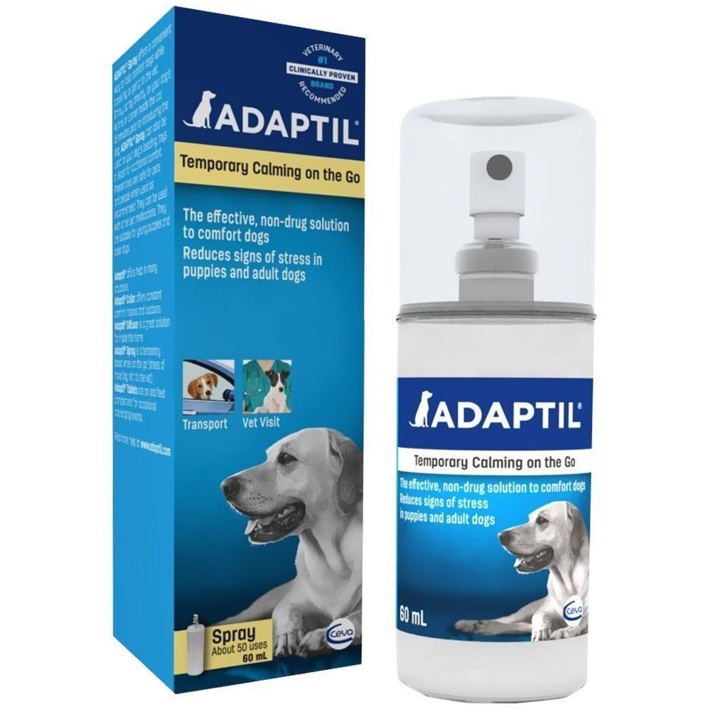 Ceva Adaptil Happy Home on The Spot Spray for Dogs - 60ml