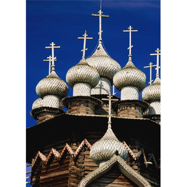 Posterazzi DPI1890714LARGE Transfiguration Cathedral On Kizhi Island, Close-Up Poster Print, 26 x 36 - Large - image 1 of 1