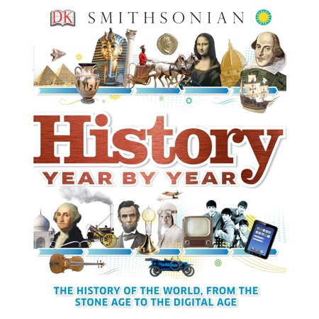 History Year by Year : The History of the World, from the Stone Age to the Digital Age](Stone Age Cavemen)