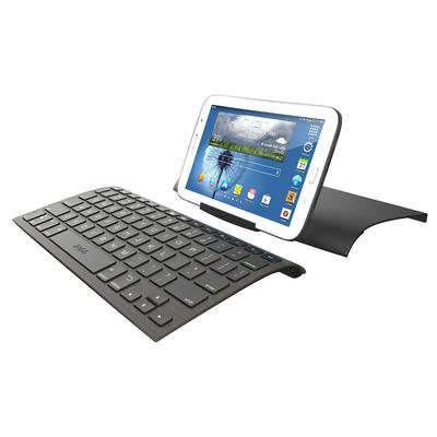 zagg connect wired micro usb keyboard case stand for android tablets black. Black Bedroom Furniture Sets. Home Design Ideas