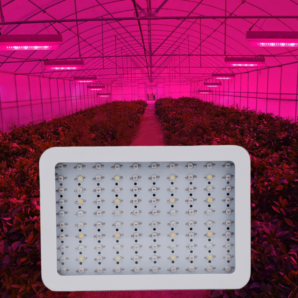 New 1000W 100 LED Bright Full Spectrum Grow Light for Med...