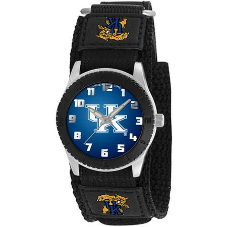 Game Time NCAA Men's Kentucky Wildcats Rookie Series Watch, Black
