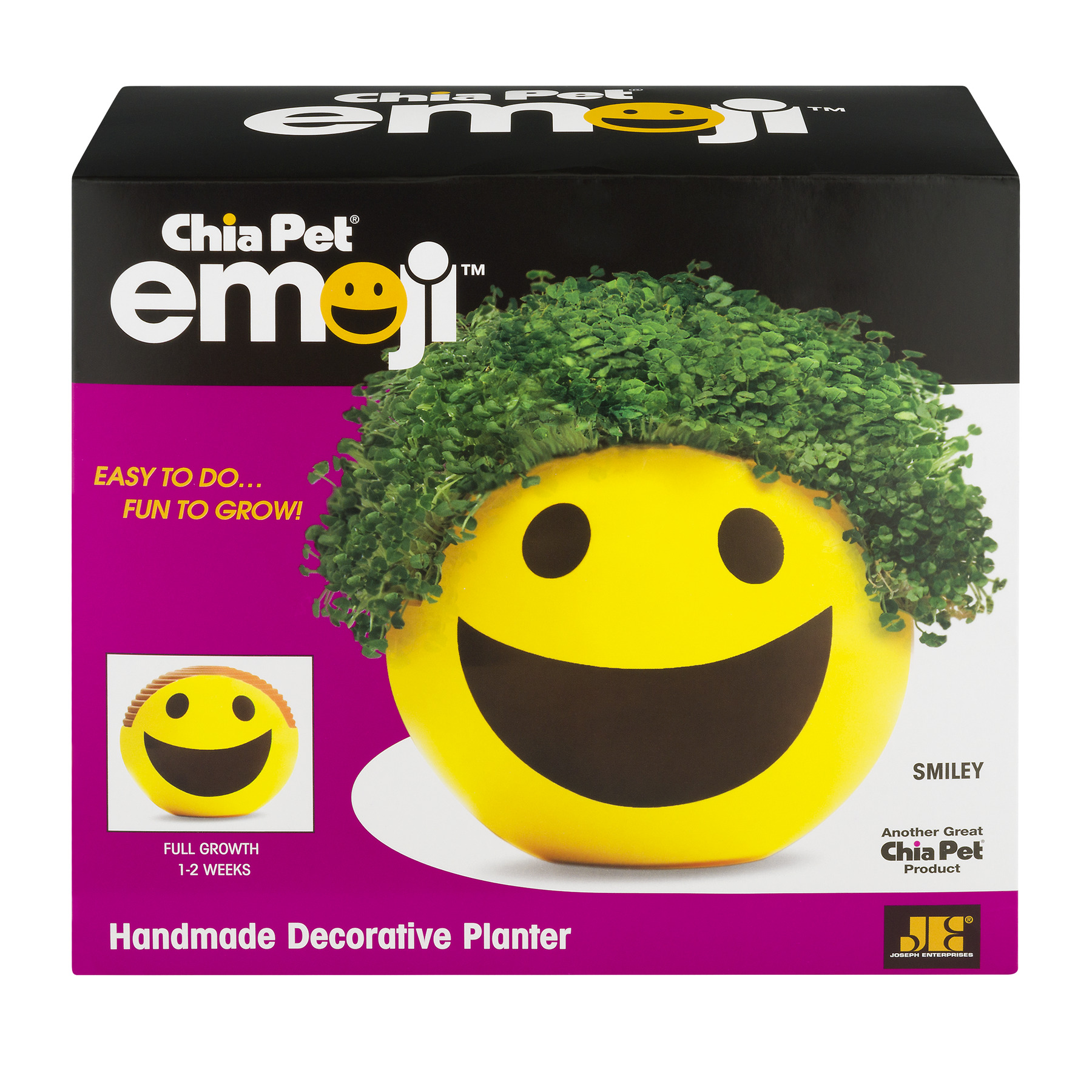 As Seen on TV - Chia Pet Emoji Smiley