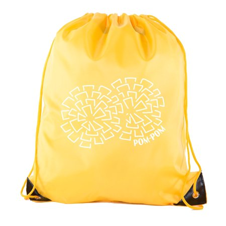 Cheer Bags, Pom Pom and Cheerleader drawstring Backpacks, Cheerleader Team bags](Cheerleader Bags)