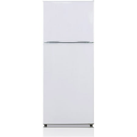 Midea 9.9 Cu Ft Energy Star Frost Free Top Freezer Refrigerator, White