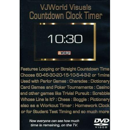 VJ World Visuals Countdown Clock Timer: VJ World (DVD)](Halloween Vj Visuals)