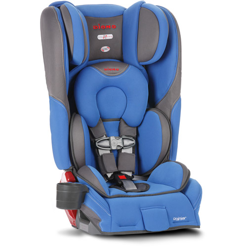 Diono Rainier Convertible Car Seat plus Booster with Adjustable Head Support by Diono