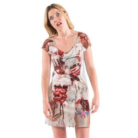 Womens Zombie Bride Dress, Multicolor - Small](Zombie Bride)