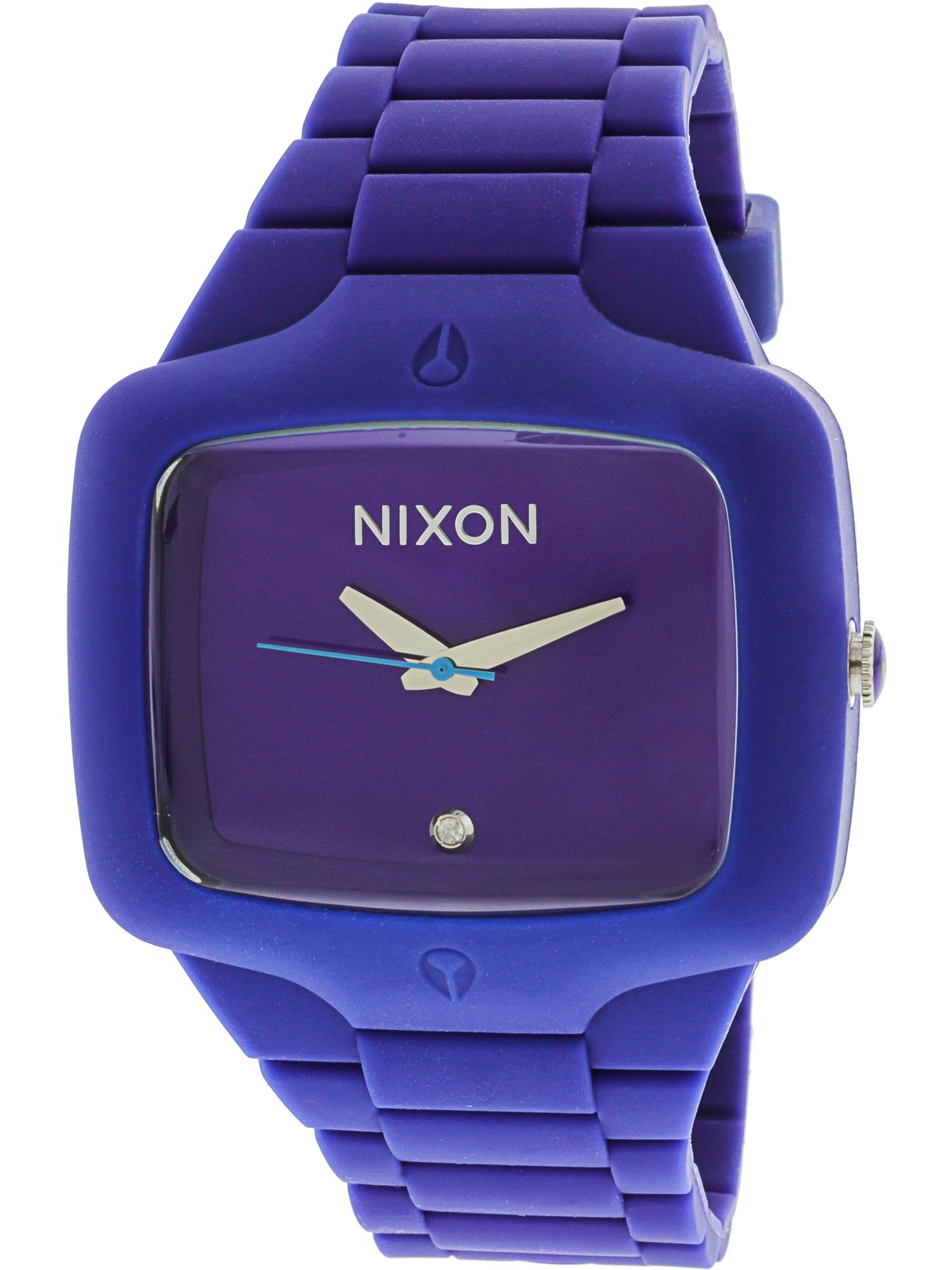Men's A139230 Purple Silicone Quartz Fashion Watch