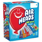 Airheads Candy Variety Gravity Feed Box, 60 Individually Wrapped Assorted Fruit Bar