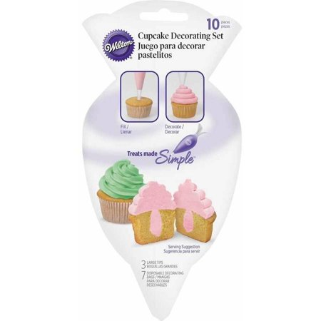 Wilton Cupcake Decorating Set, 10-Piece](Cupcake Decorating Ideas)