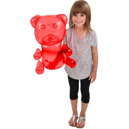 Delicious Candy Large Red Gummy Bear Animal Inflatable 18